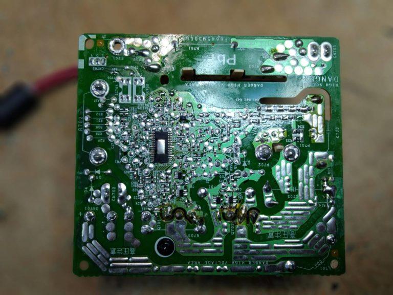 Мы практикуем ремонт электронных модулей отдельно от какого-либо устройства